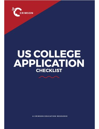 US College Application Checklist