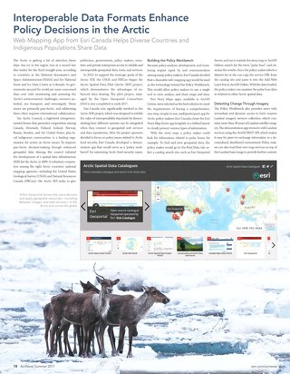 Interoperable Data Formats Enhance Policy Decisions in the Arctic