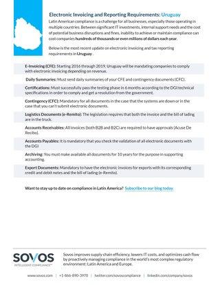 Uruguay-Requirements