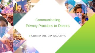 Communicating Privacy Practices Slides