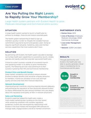 Case Study: Are You Pulling the Right Levers to Rapidly Grow Your Membership?