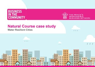 Water Resilient Cities - Natural Course case study