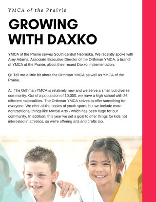 YMCA of the Prairie Software Testimonial
