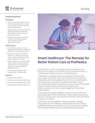 Smart Healthcare: The Remedy for Better Patient Care at ProMedica