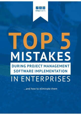 Top 5 Mistakes Made During Project Management Software Implementation by Enterprises