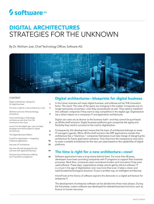 White paper: Strategies for the Unknown