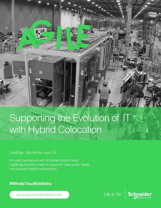 Supporting the Evolution of IT with Hybrid Colocation