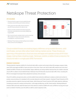 Netskope Threat Protection