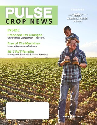 Alberta Pulse Growers - Pulse Crop News | Winter 2017 Issue