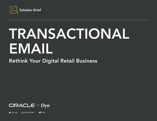 Technical Overview - Oracle Dyn Email Delivery