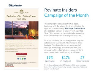 December Campaign of the Month