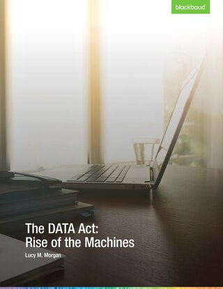The DATA Act: Rise of the Machines
