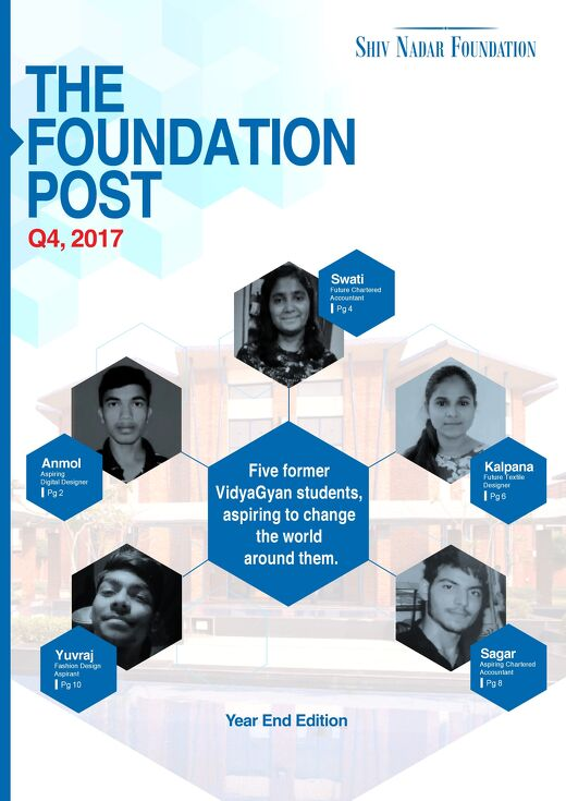 The Foundation Post, Q4, 2017: Shiv Nadar Foundation's Newsletter