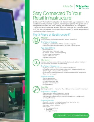 Stay Connected To Your Retail Infrastructure
