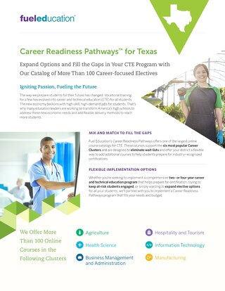 Texas CTE Flyer