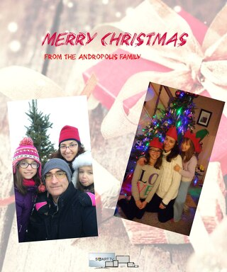 Andropolis Family Christmas Card 2017