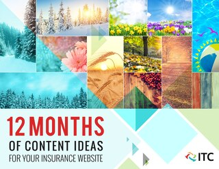 12 Months of Content Ideas