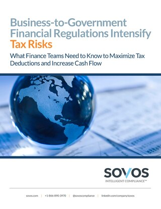 Business-to-Government Financial Regulations Intensify Tax Risks