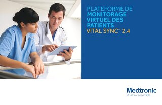 Plateforme de monitorage virtuel des patients Vital Sync 2.4