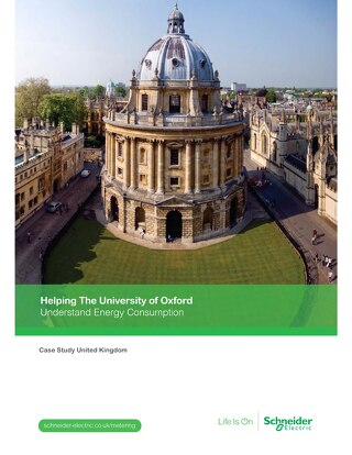 Understanding Energy Consumption: Helping the University of Oxford