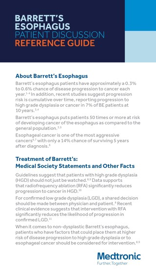 Barretts Esophagus Patient Discussion Reference Guide