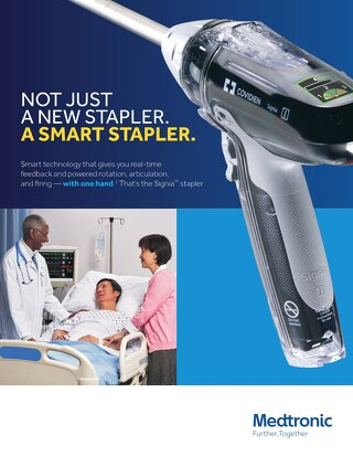 Not Just a New Stapler. A Smart Stapler.
