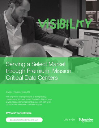Serving a Select Market through Premium, Mission Critical Data Centers