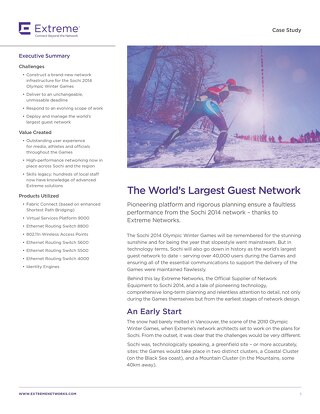 The World's Largest Guest Network