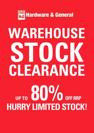 Stocktake Clearance