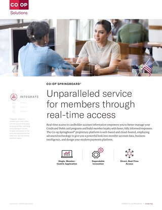 CO-OP Springboard Slipsheet