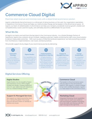 Commerce Cloud Digital