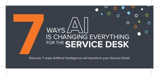 7 Ways AI is Changing Everything on the Service Desk
