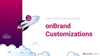 onBrand Customizations Showcase