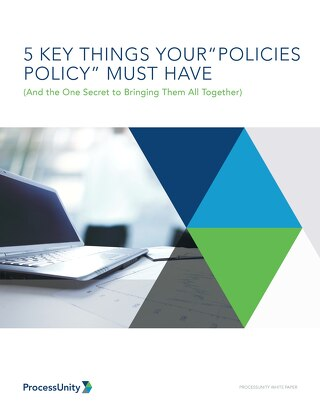 Five Keys to Policy and Procedure Management