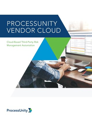 ProcessUnity Vendor Cloud