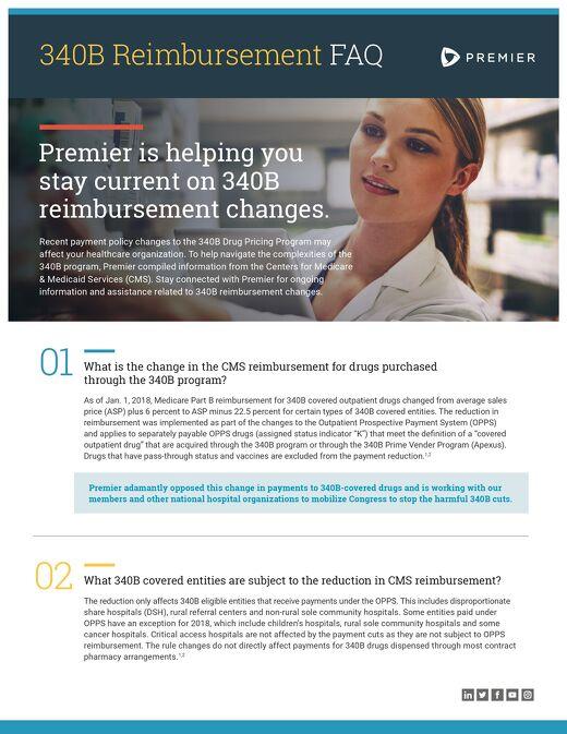 340B Reimbursement FAQ