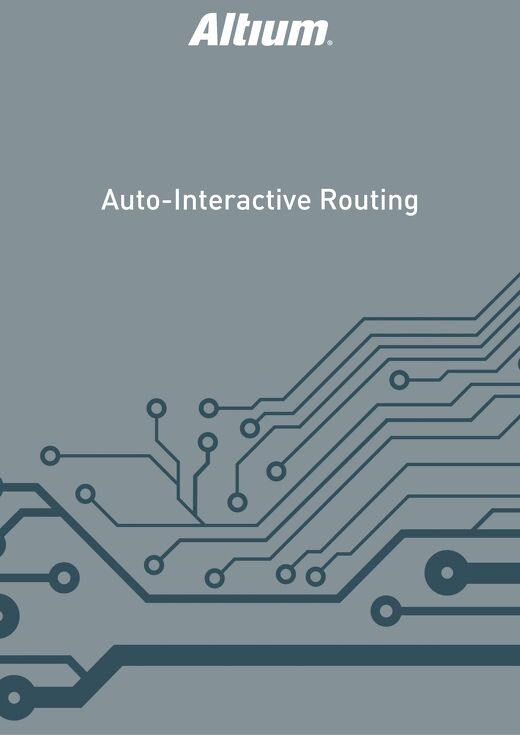Auto-Interactive Routing