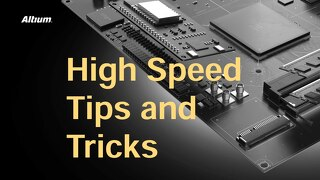 High Speed Tips and Tricks