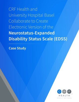 CRF Health and University Hospital Basel Collaborate to Create Electronic Version of the Neurostatus-EDSS