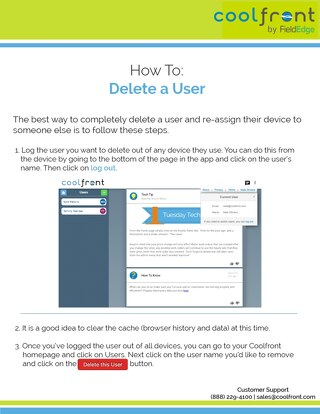 How to Delete a User