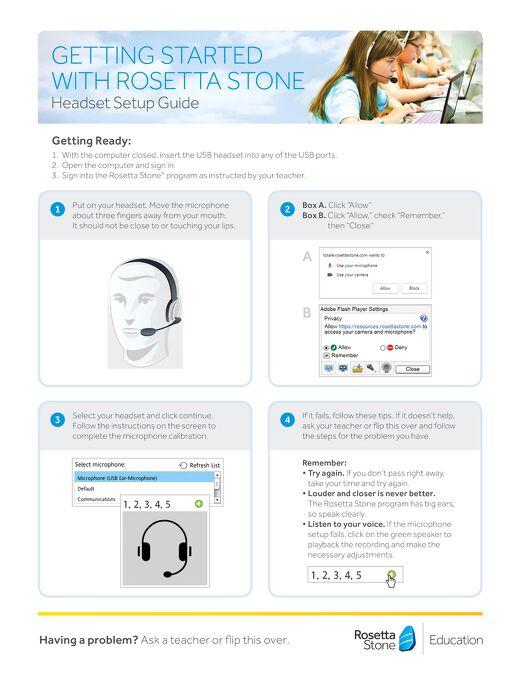 Headset Setup Guide
