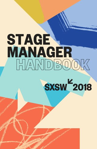 2018 SXSW Stage Manager Handbook