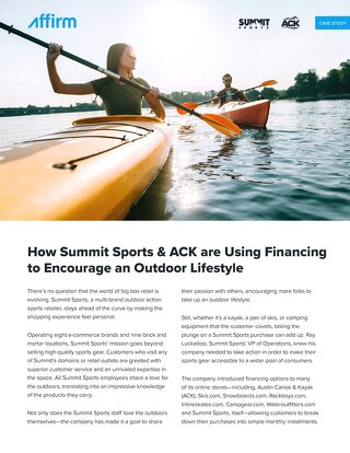 Summit Sports & ACK Case Study