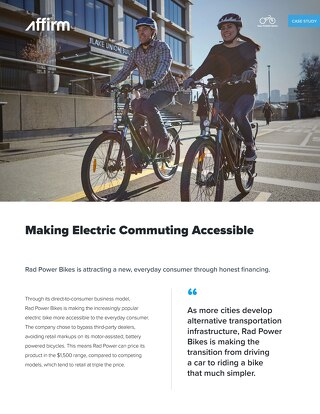 Rad Power Bikes Case Study