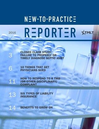 New-to-Practice Reporter 2016