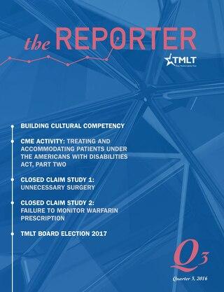 The Reporter Quarter 3 2016