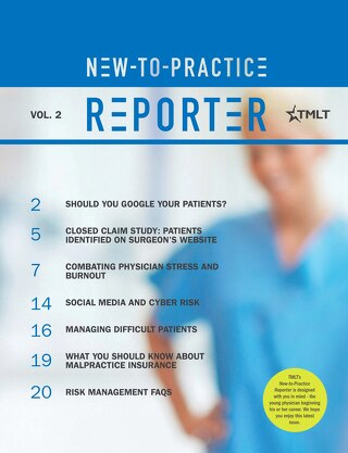 New-to-Practice Reporter 2017