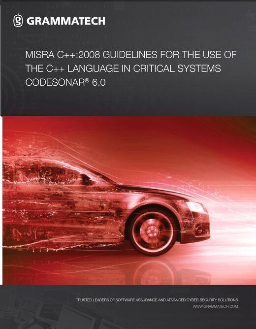 GrammaTech MISRA 2008 C CPP 5.1p0