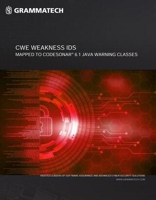 GrammaTech CodeSonar CWE Java