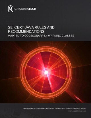 GrammaTech CERT Java | CodeSonar 4.5p2